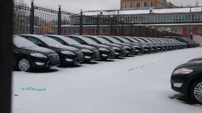 Новый автопарк Генеральной Прокуратуры России (3 фото)