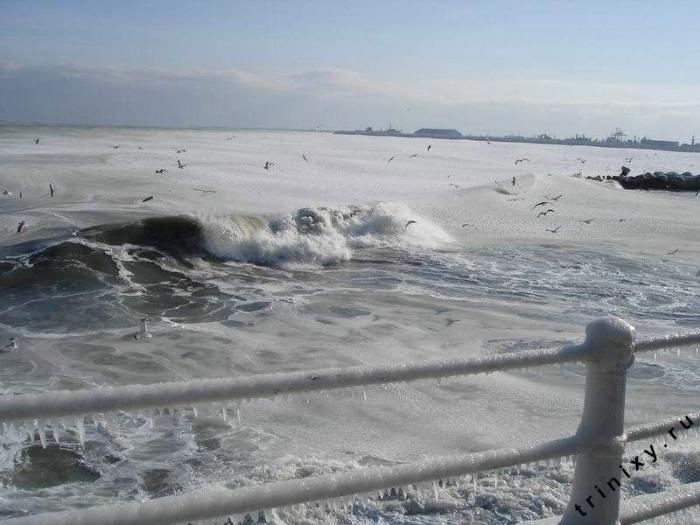 Замерзшее море (12 фото)