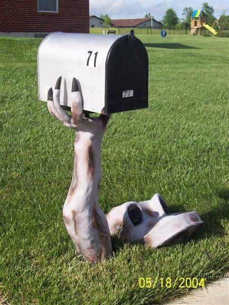 Самые удивительные почтовые ящики США (72 фото)