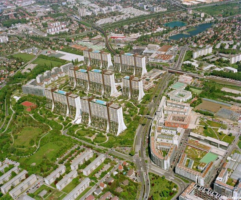 Социальный комплекс в Вене (19 фото)