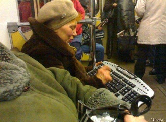 Суровая правда о нашем метро (24 карикатуры + 17 фото)