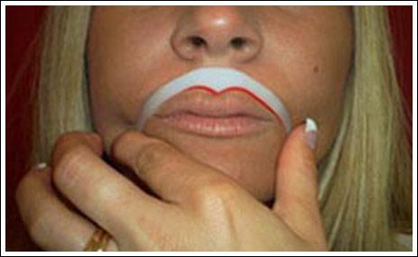 Показать половые губы