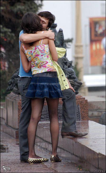 Москва - город поцелуев (17 фото)