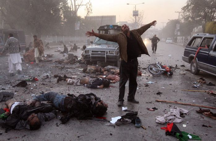 Лучшие фотографии 2007 года по версии MSNBC (73 штуки)
