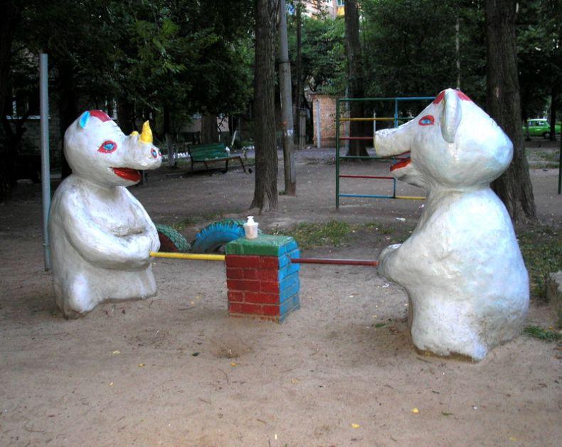 Ужасы детских дворов. Часть 2 (31 фото)