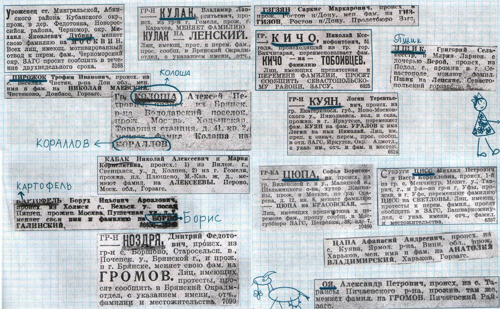 Как люди фамилии меняют (17 фото)
