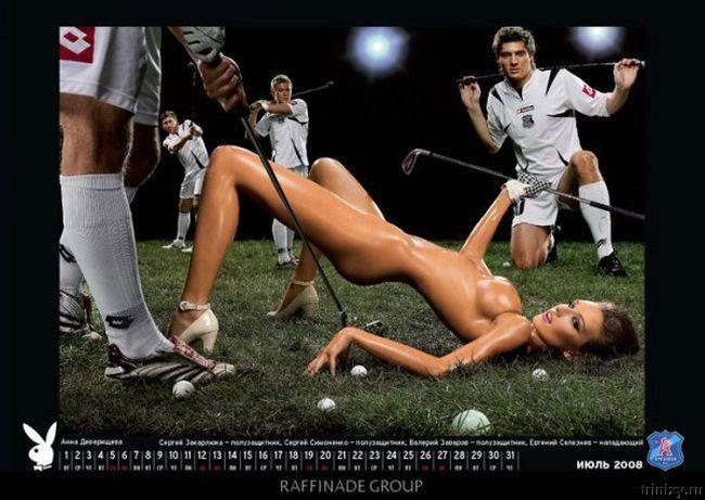 Спортивный эро календарь на 2008 год (13 фото)