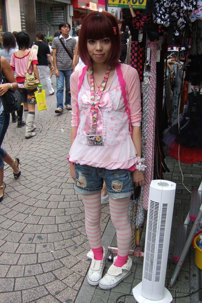 B Молодёжный стиль современной Японии /b.