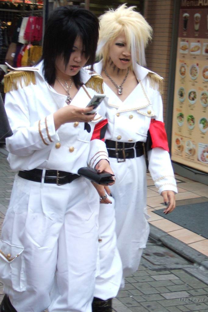 Как одевается японская молодежь (60 фото) .