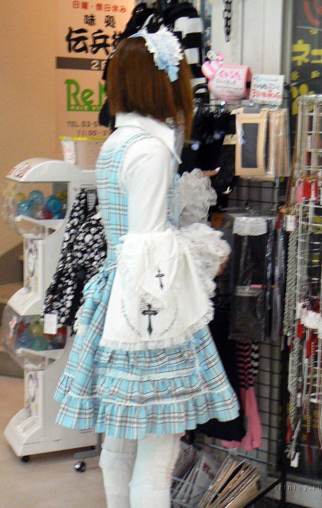 Уличная мода в Японии (60 фото)