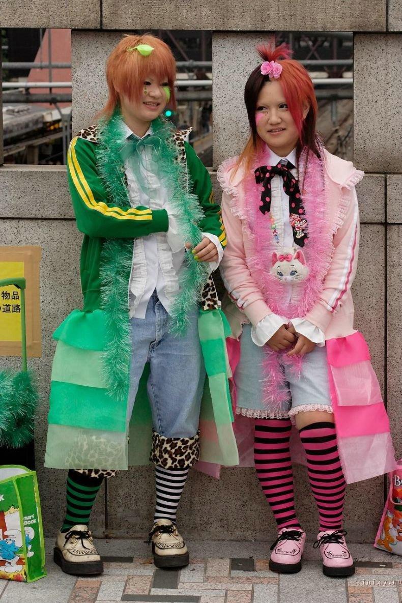 Так называется район в Японии. Молодежь в этом районе, во всей Японии