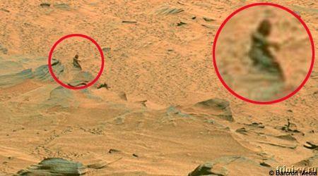 Обнаружена жизнь на Марсе! (4 фото)