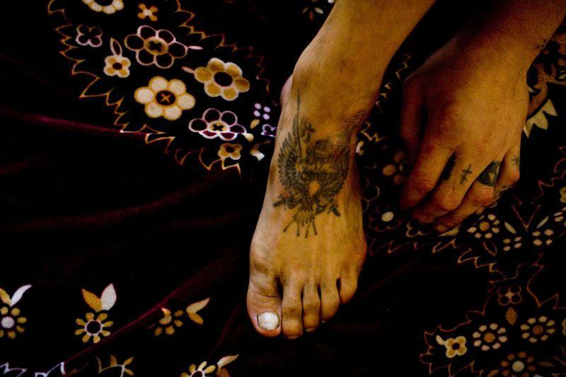 Тюремные татуировки (28 Фото)