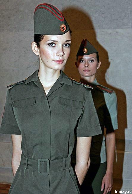 Образцы новой формы для российских военнослужащих от Юдашкина (11 фото)