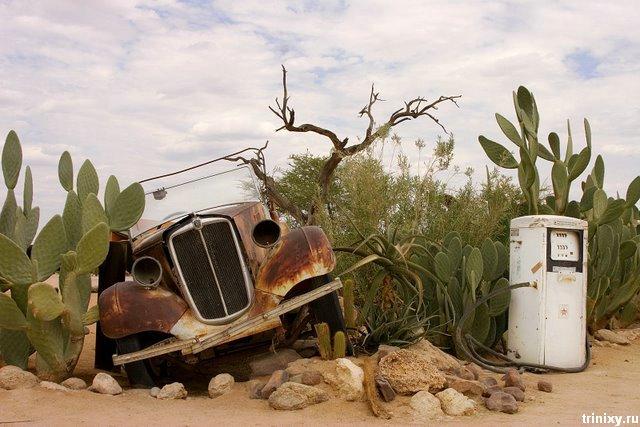 Заброшенный город Колманскоп в Намибии (18 фото)