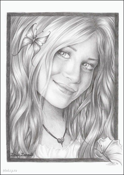 Фото нарисованные карандашом 5
