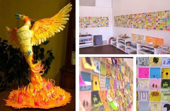 Искусство из подручных материалов (10 фото + 2 видео)