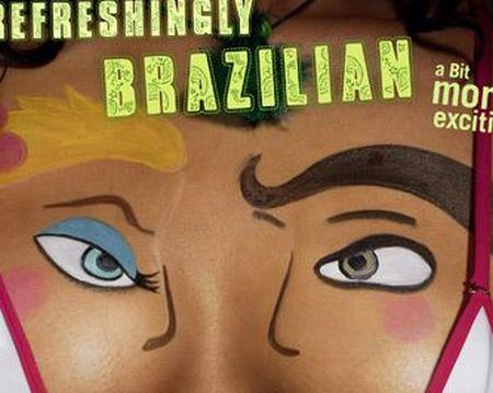 Классная реклама бразильского пива (3 фото)