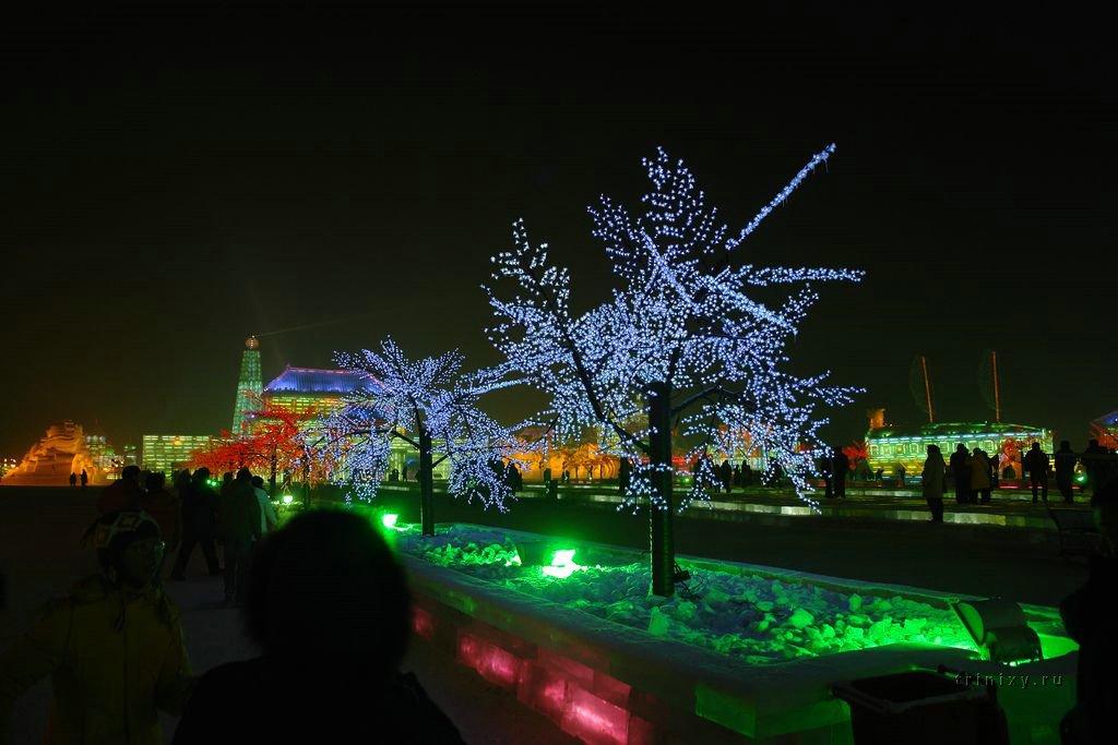 Мир из снега и льда, похожий на сказку (57 фото)