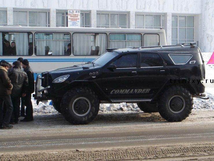 """Джип-грузовик """"Вепрь"""". Зверь-машина (28 фото)"""