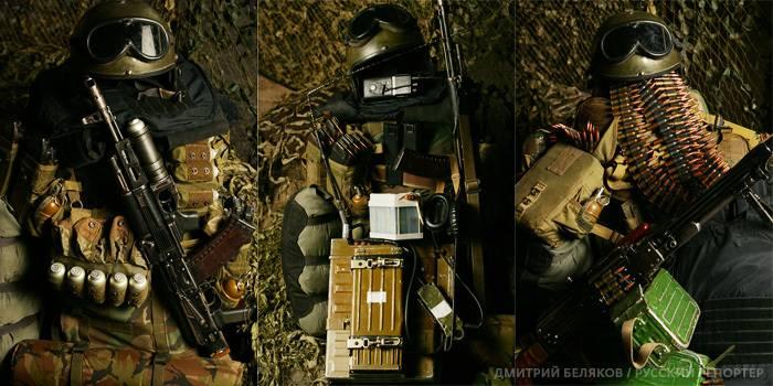 Будни российского спецназа (15 фото)