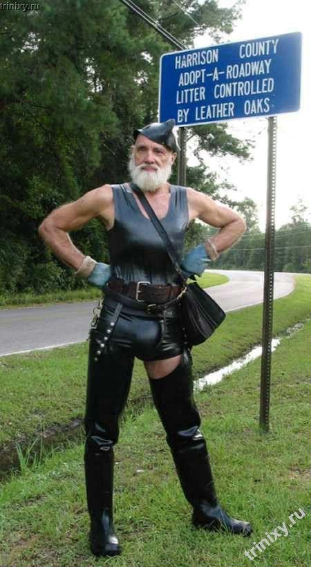 Дед-фетишист (45 фото)
