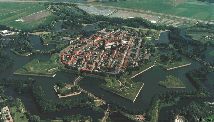 Шесть лучших фортов в форме звезды (11 фото)