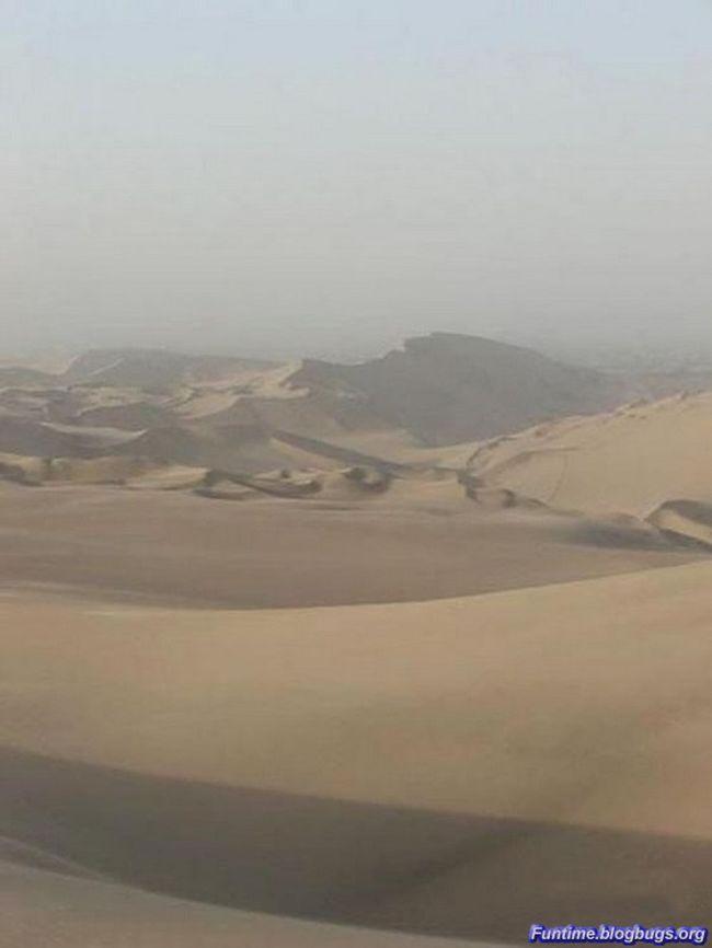 Невероятный оазис в пустыне (17 фото)