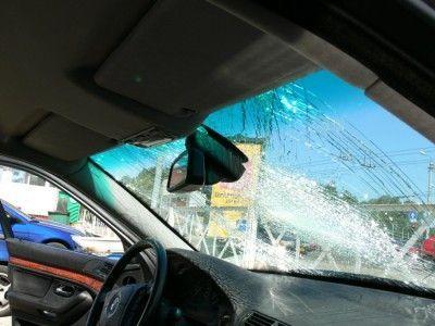 Случай на автостоянке (15 фото)
