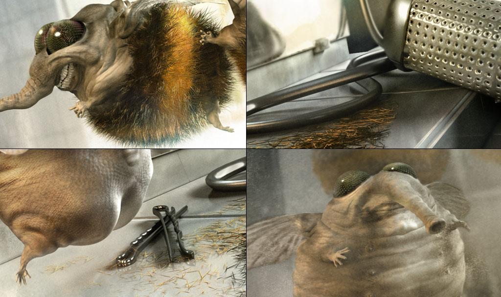 Бритые шмели красавчики (4 картинки)