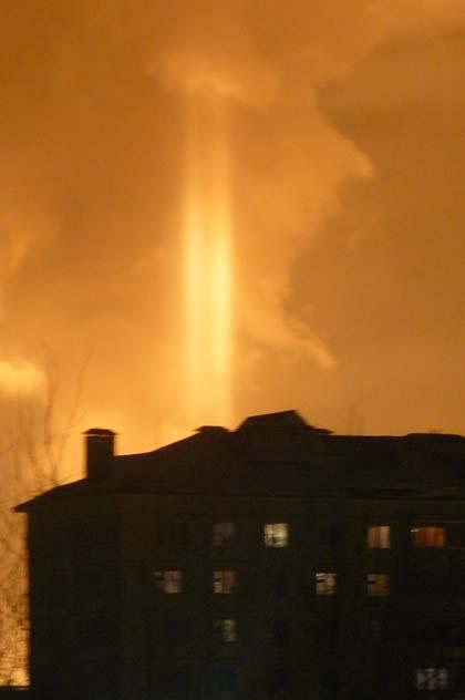 Вид из окна. Взрыв на газопроводе в городе Нягань (7 фото)