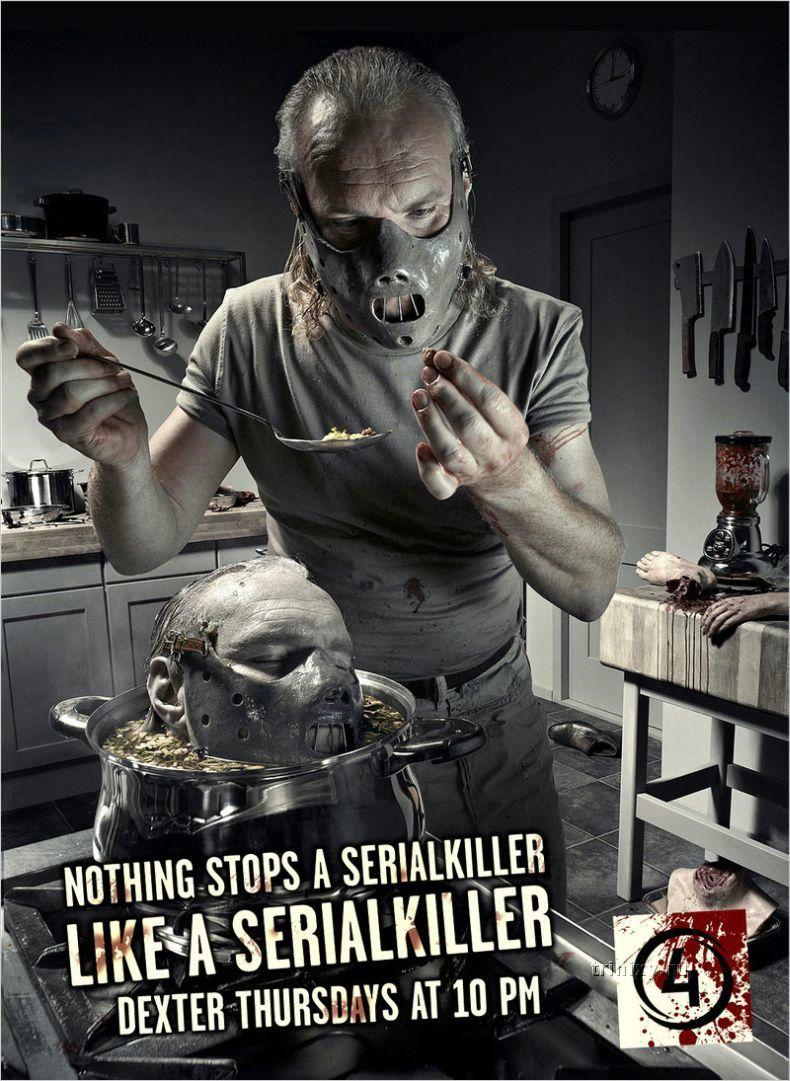 Реклама сериала Декстер (3 принта)