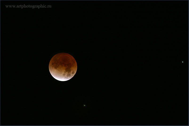 Лунное затмение (15 фото)