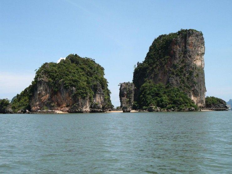 Необычные острова в Таиланде (48 фото)