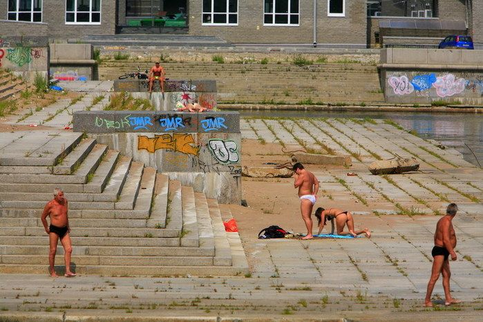 Питерские пляжи (10 фото)