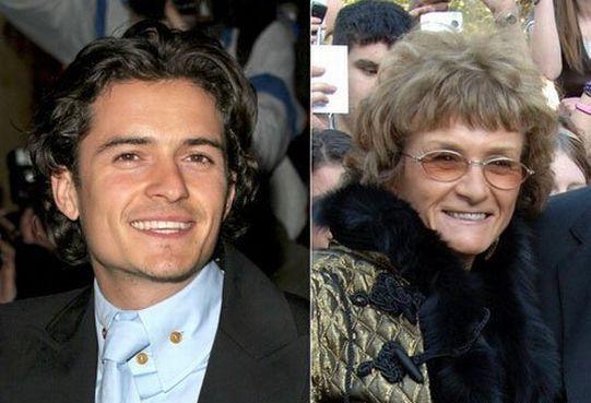 Знаменитости и их мамы (10 Фото)