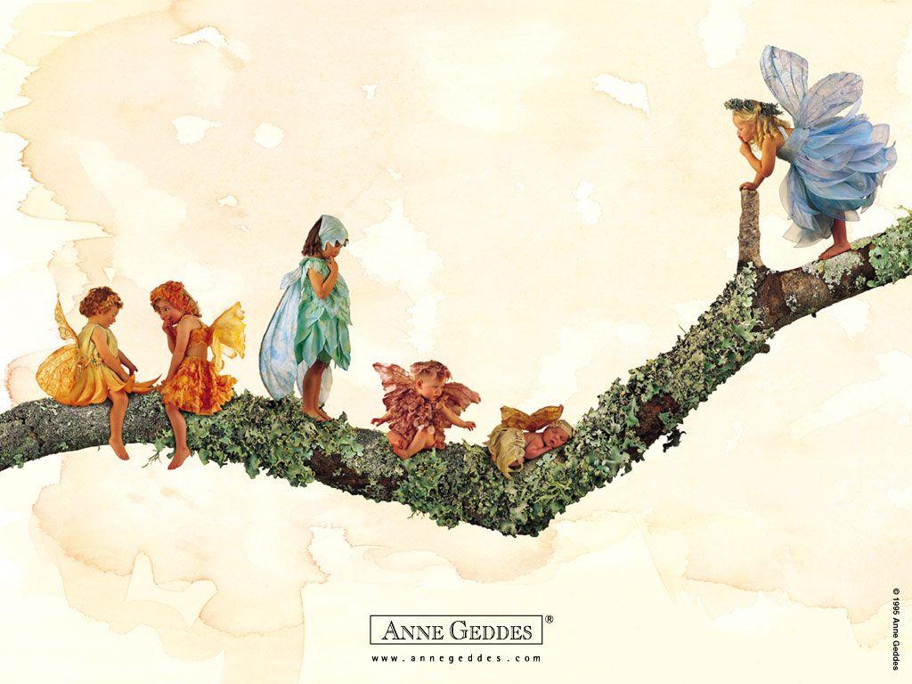 Анне Геддес и ее дети (111 фото)