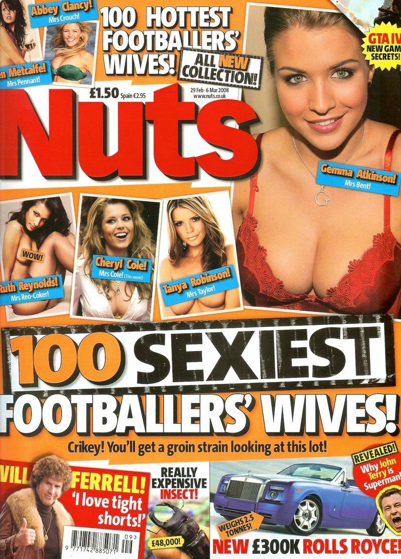 100 самых сексуальных жен футболистов (19 сканов)
