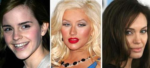 Идеальные знаменитости с помощью Photoshop (20 фото)