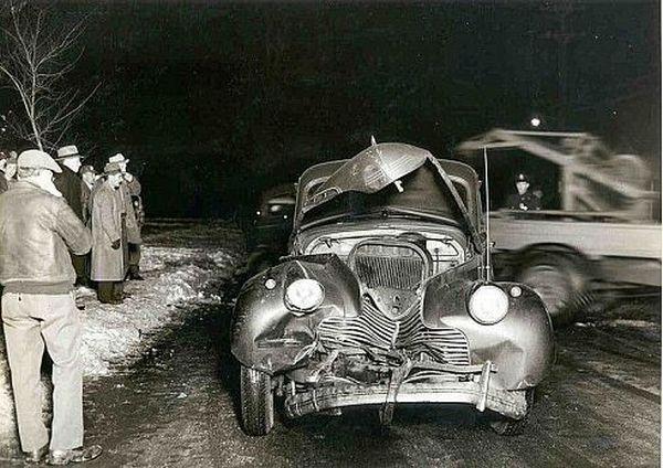 Ретро аварии прошлого века (21 фото)