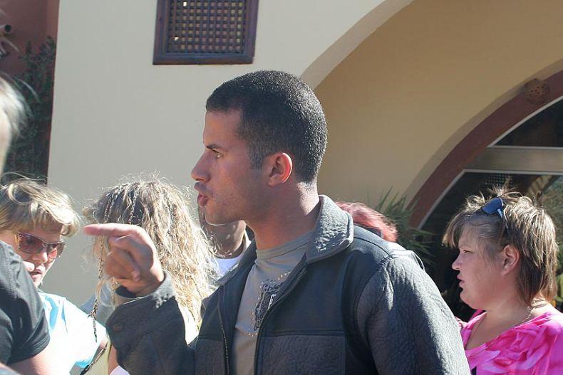 Наши туристы в Египте (9 фото)