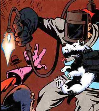Top-10 самых нелепых супер-героев за всю историю комиксов (11 картинок + текст)
