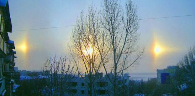 Ложное солнце (7 фото + видео)