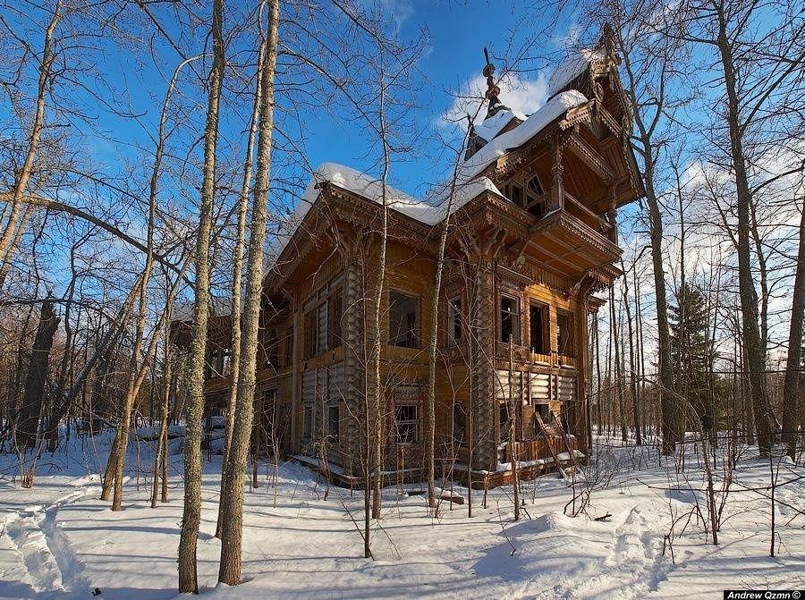 Заброшенные терема Костромской области (11 фото)