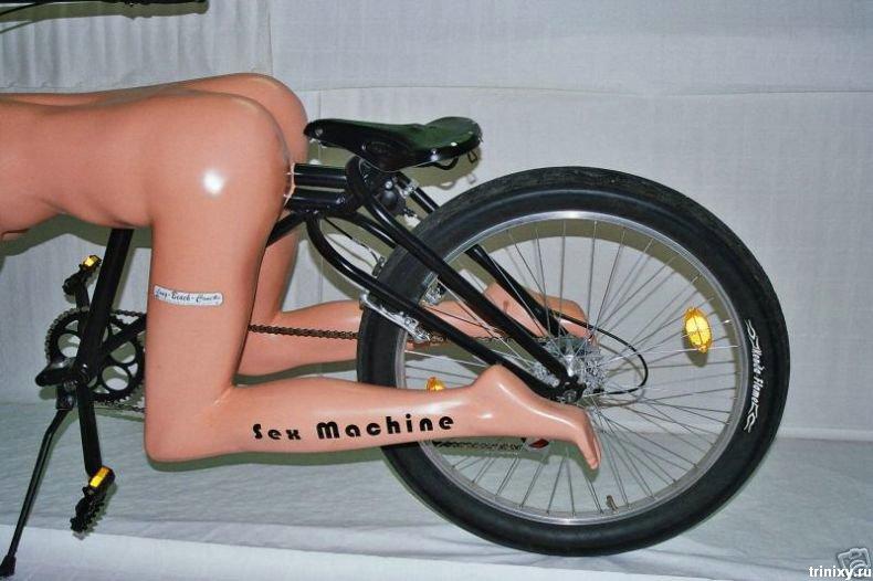 Самый пошлый велосипед в мире? (8 фото)