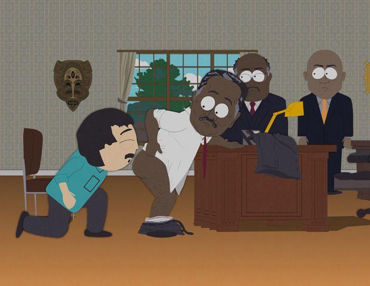 Галерея знаменитостей South Park (36 Фото)