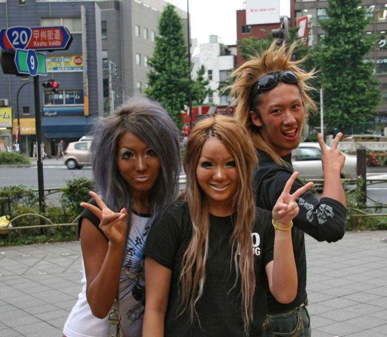 Гламурные японки (8 фото)