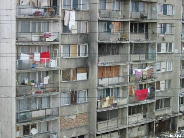 Как живут пражские цыгане (30 фото)