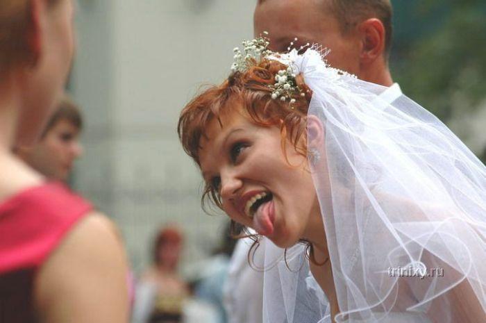 Топ 100 фотографий, которые никогда не попадут в свадебный альбом (100 фото)