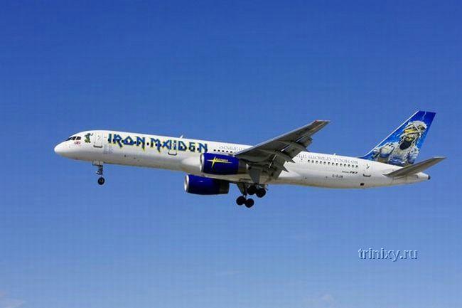Самолет группы Iron Maiden (5 фото)